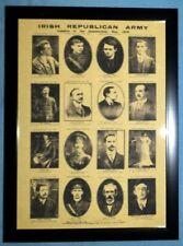 "Celtic FC Proclamation of Ireland Signatories A4 12x8"" Framed Photo Print 04"