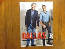 """PATRICK DUFFY(""""Dallas/Man From Atlantis"""")Signed 7 x 10 Color Magazine Page/Photo"""