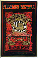 Fillmore Posters•Bill Graham Archives•1990 Calendar 11x17•12 Legendary Posters