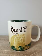 Starbucks Collectible Banff Bear Global Icon Series Ceramic Coffee Mug Canada