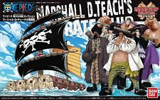 One Piece Grand Ship Collection #11 Mashall D Teach's Pirate Model Kit Us Seller