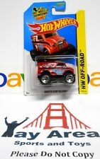 2014 Hot Wheels HW Off-Road Monster Dairy Delivery {Red ,White, & White Decals!}