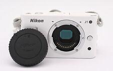 Nikon 1 J1 10.1 MP Digital Camera - White (Body Only)