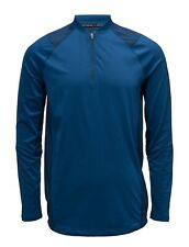 Under Armour Men's Ua Mk-1 1/4 Zip Top - Medium - Blue - New