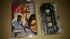 N.W.A. - 100 Miles And Runnin' (1990 Cassette Tape, Ruthless/Priority) TESTED