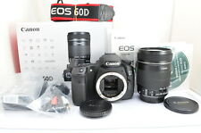 [MINT]Canon EOS 60D 18.0 MP Digital SLR Camera (Kit w/ EF-S IS 18-135mm Lens)