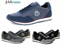Mens Canvas Trainers Casual Lace Up Shoes Running Walking Pumps UK 6 7 8 9 10 11