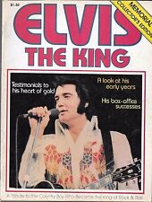 ELVIS PRESLEY THE KING MAGAZINE (VG) FROM 1977
