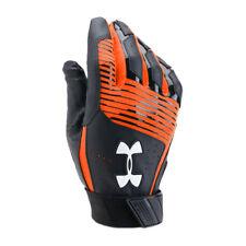 Under Armour Men's UA Clean Up Baseball Batting Gloves 1299530-004 BLK/DKO/WHT