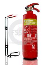 1 LITRE FOAM 1L/1LTR FIRE EXTINGUISHER CARS HOME RESTAURANT CAFE KITCHEN