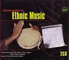 2 CD ENCYCLOPEDIA ETHNIC MUSIC FROM AFRICA AUSTRALIA CHINA TIBET THAILAND ANDES