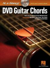 At A Glance Guitar Power Barre Chords Learn to Play Lesson Music Book & DVD