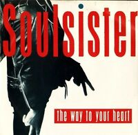 """SOULSISTER the way to your heart 7"""" PS EX/EX uk columbia DB 9175"""