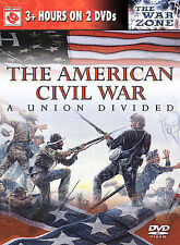 The American Civil War: A Union Divided D. Sutherland DVD NEW-LAST TIME LISTED