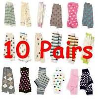 Leg Warmers Baby Leggings Toddler U-Pick Lot of 10 Pairs Socks NEW