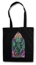 CHURCH OF CTHULHU SHOPPER SHOPPING BAG Miskatonic Lovecraft Arkham Dunwich