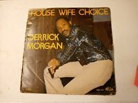 Derrick Morgan ‎– House Wife Choice Vinyl LP 1979