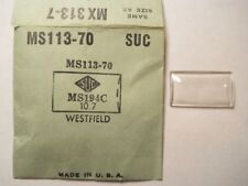 WESTFIELD SIDE WRIST SPORTSMAN SUC MS113-70 GS MX313-7 Watch Crystal 1.94x1.07mm