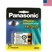 Panasonic cordless Phone Battery Rechargeable batteries HHR-P107 3.6V NI 2PCS