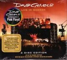 DAVID GILMOUR (PINK FLOYD) -Live in Gdansk         Rare 2 CD + DVD Edition