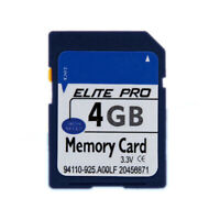 4GB SD Card Standard 4GB Secure SD Memory Card Digital Wholesale for Camera MP4
