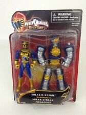 Bandai 2006 Power Rangers Mystic Force Solaris Knight to Solar Streak Megazord
