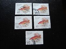 MADERE (portugal) - timbre yvert et tellier n° 137 x5 obl (A28) stamp (A)
