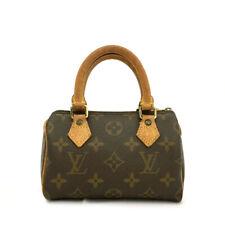 Louis Vuitton Monogram Mini Speedy Hand bag /A0967