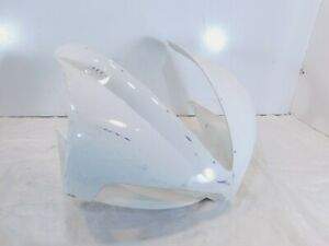 2009 09 Buell 1125 1125R White Front Headlight Headlamp Cover Cowl Fairing Cover