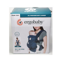 STORE DISPLAY Ergobaby Omni 360 Cool Air Mesh Oxford Blue Free S/H