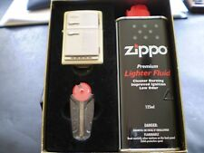 "ZIPPO / THE RARE "" FRIDGE ""  ZIPPO IN A GIFT BOX WITH FUEL, FLINTS, AND WICK"