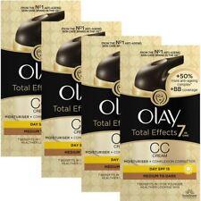 4 Olay Total Effects Colour Correction Cream Moisturiser SPF15 MediumToDark 50ml