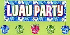 1 x Hawaiian Tropical...Luau...Beach... Hibiscus GIANT Wall Banner 1.5 Metres