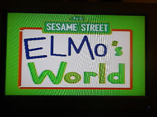 ELMO'S WORLD 123 SESAME STREET Plug and Play 5 Games! 2005 Techno Source