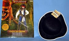 Pirate costume;boys 4-6;CAPTAIN JACK SPARROW;shirt,vest,boots;Tricorn felt hat