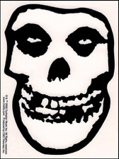15782 Misfits Crimson Ghost Skull Punk Rock Music Band Horror Sticker / Decal