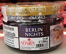 Adalya BERLIN NIGHTS Shisha Tabak Tobacco 200g neue Produktion(7,45 € pro 100g)