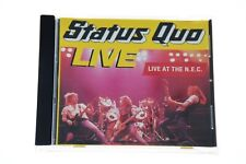 STATUS QUO LIVE AT THE N.E.C. CD Album - Complete, VG Condition