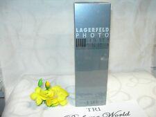 Lagerfeld PHOTO by Lagerfeld Eau de Toilette EDT Men Spray 4.2 fl.oz. Sealed