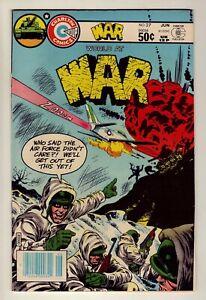 World at War #27 - June 1981 Charlton - war stories - Very Fine (8.0)