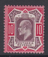 SG 255 10d Slate Purple & Deep Carmine  M43 (3) Post Office fresh unmounted mint