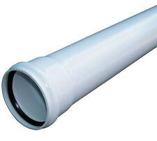 UPVC Soil Pipe 110mm 3mtr Length - White