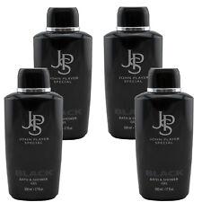 John Player Special JPS BLACK Bath & Shower Gel j4 x 500 ml TOP PREIS