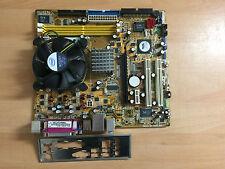 ASUS P5VD2-VM/S Sockel 775 Mainboard +CPU Celeron 2,0GHz  Kühler  ATX Blende #69