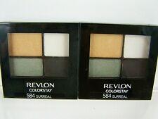 Revlon ColorStay Eye Shadow Quad #584 Surreal Lot of 2 Eyeshadow New Sealed