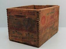 Remington Shur Shot 12 Ga. No. 5 Shot Finger Grooved Wood Crate