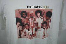 🔴 Ohio Players Gold Album T Shirt Size XXL White Short Sleeve