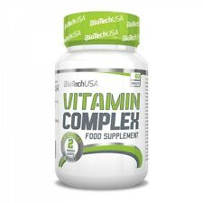BioTech USA - Vitamin Complex, 60 Tabletten - Multivitamin, Multimineral -