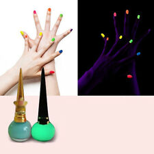 EE_ FT- Glow in the Dark Candy Color Luminous Fluorescent 14 ml Nail Art Polish