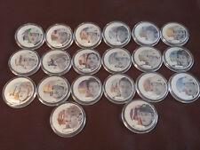Upper Deck Grandeur Hockey Coin set Mcdavid, Crosby, Gretzky, Ovechkin, Jagr,Roy